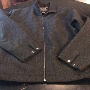 Perfect Men's Large Wool Abercrombie Winter Coat